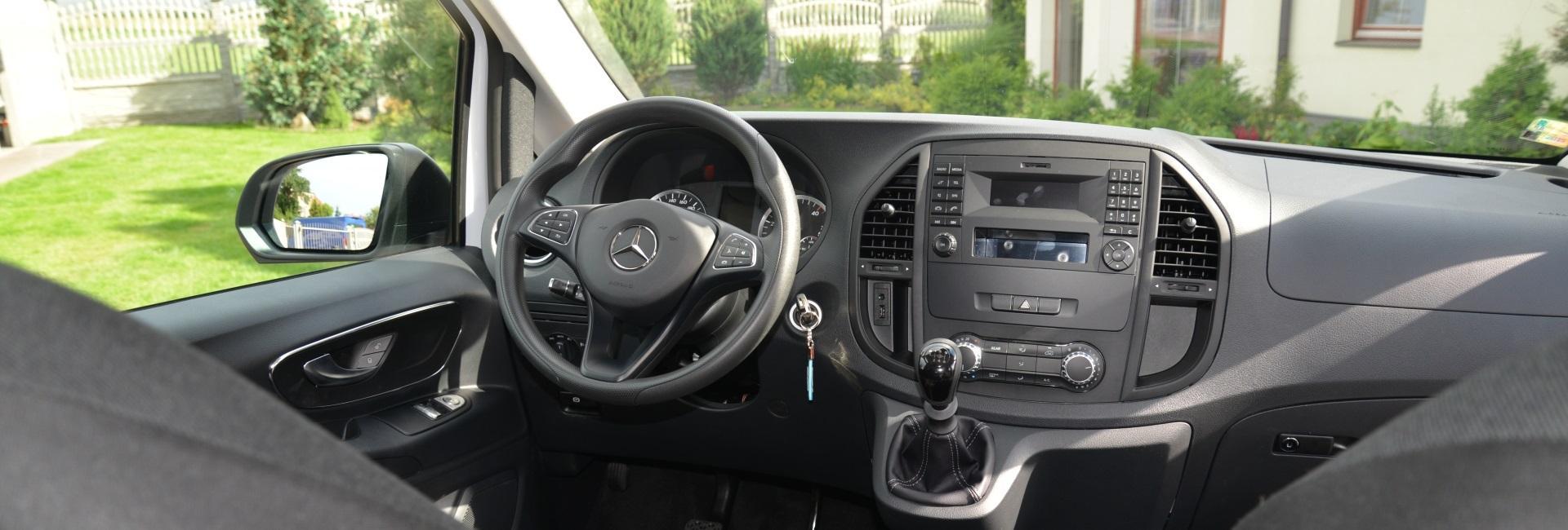 Interiér Mercedes Benz Vito